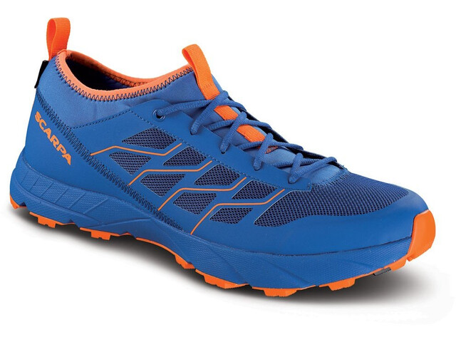 Scarpa Atom SL GTX Schuhe turkish sea/orange fluo